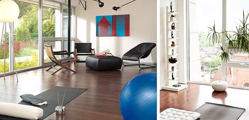 Como crear tu cuarto de yoga en casa