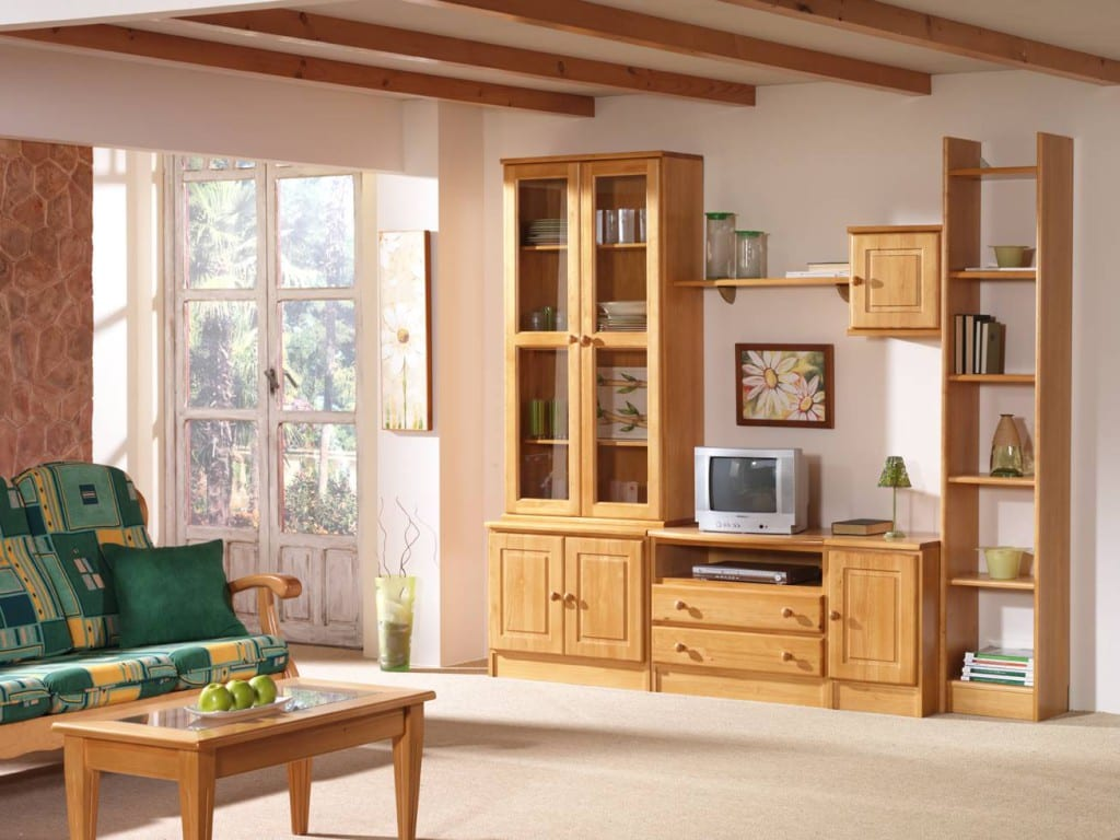 Reglas para conseguir muebles baratos - Muebles madera de pino ...