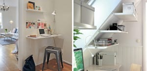 Oficina pequeña en casa