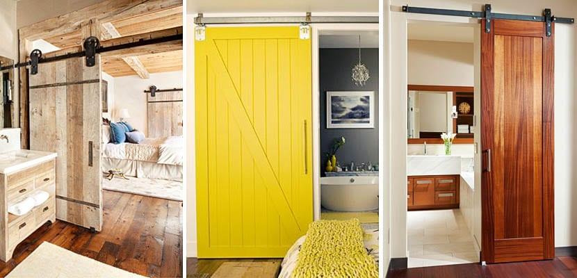 Puertas correderas entre el dormitorio y el ba o incorporado for Puertas de madera habitaciones