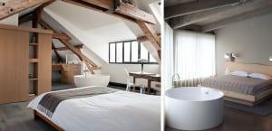 Bañeras integradas en el dormitorio