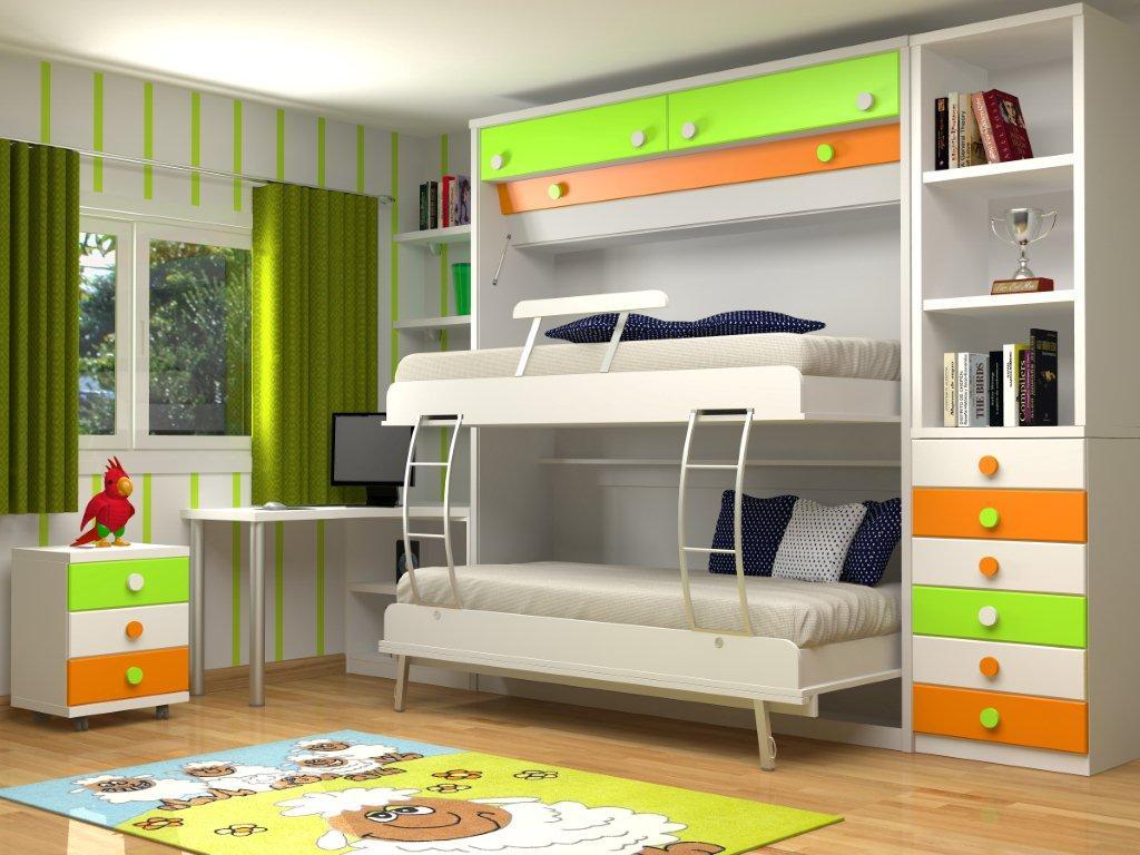 Ideas para ahorrar espacio con las camas