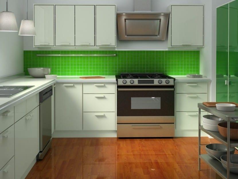cocina renovada color