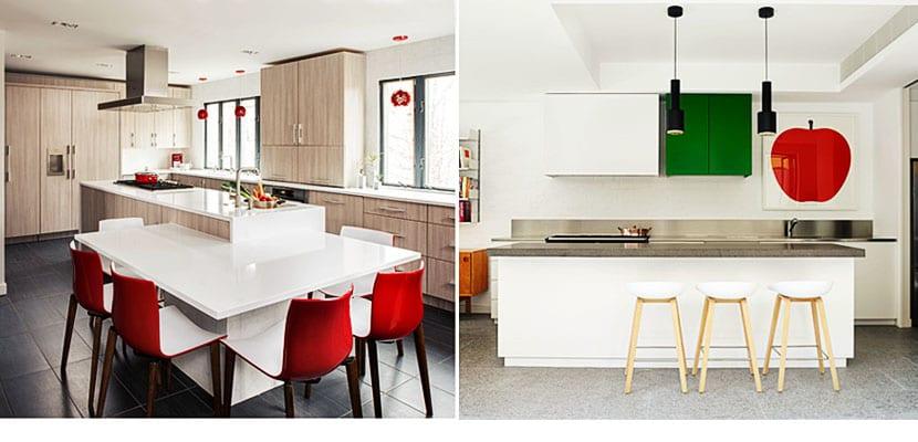Te atreves con el rojo en tu cocina?