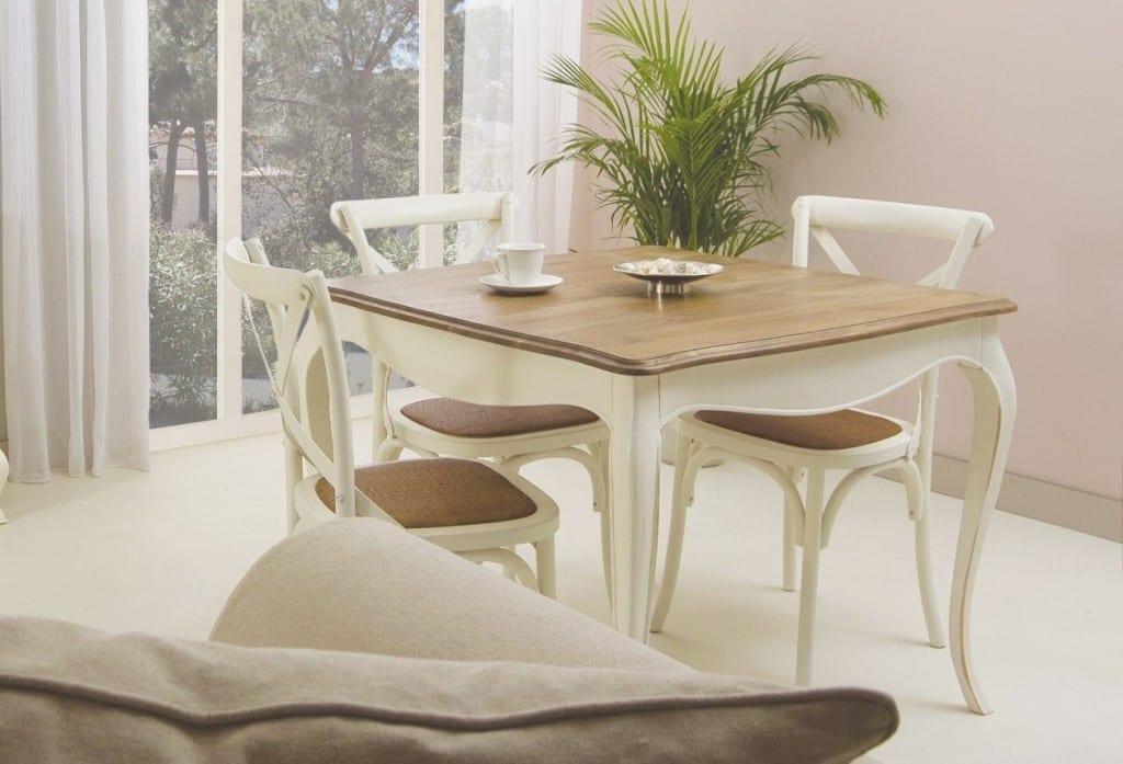 Mesas perfectas para comedores pequeños