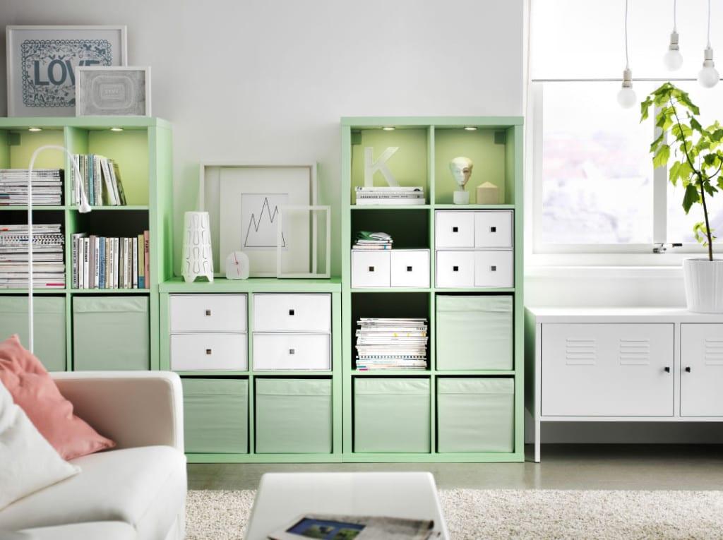 decoracion verde menta