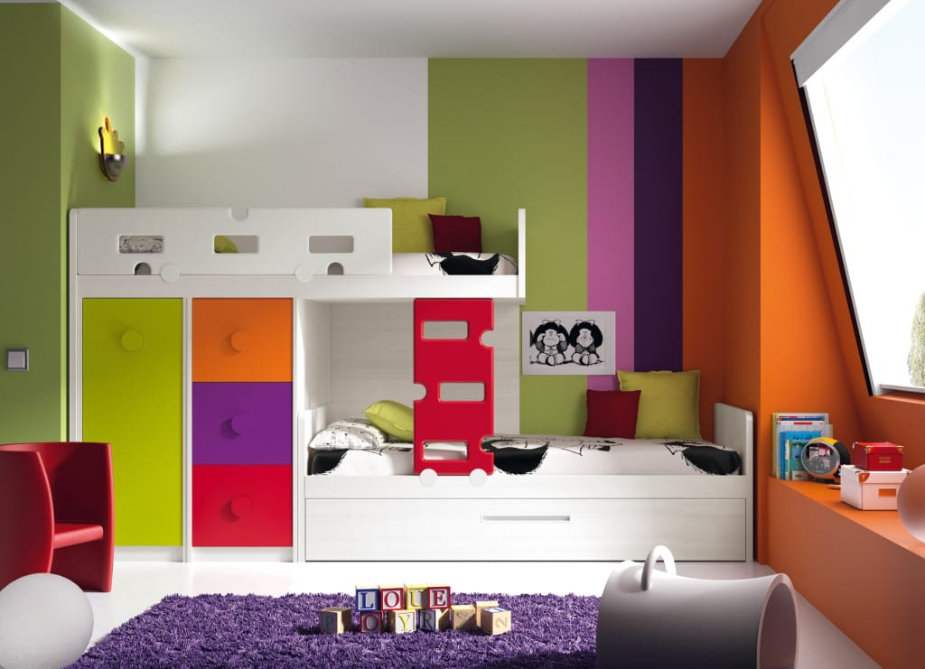 Decoracin dormitorios infantiles trendy decoracin - Dormitorios infantiles literas ...