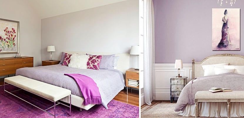 Dormitorios lavanda