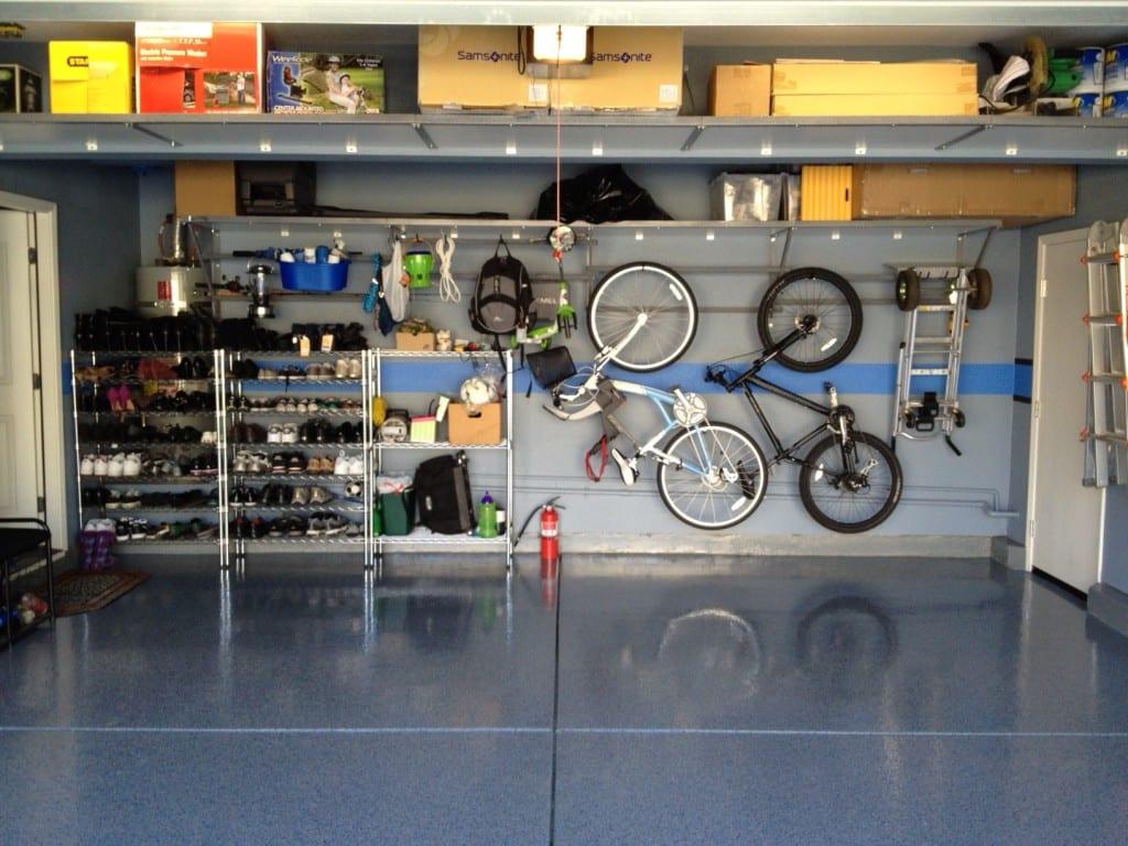 garaje ordenado