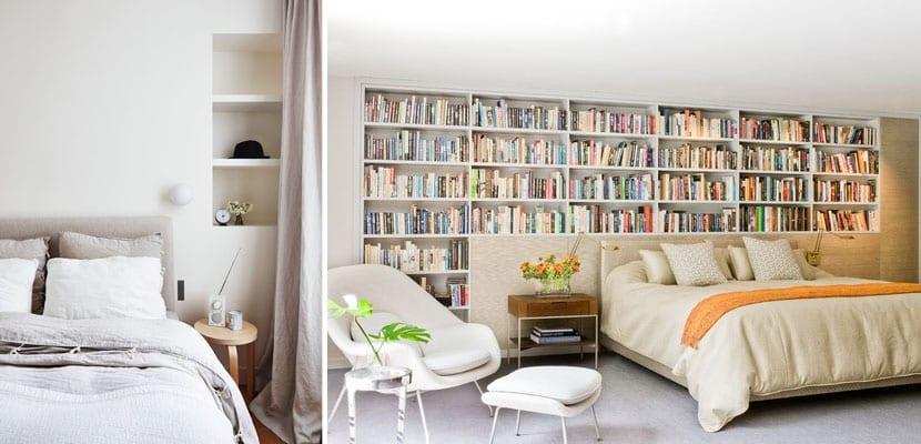 Librería dormitorio