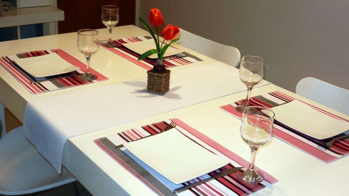 Decora tu mesa con manteles individuales Como hacer un comedor