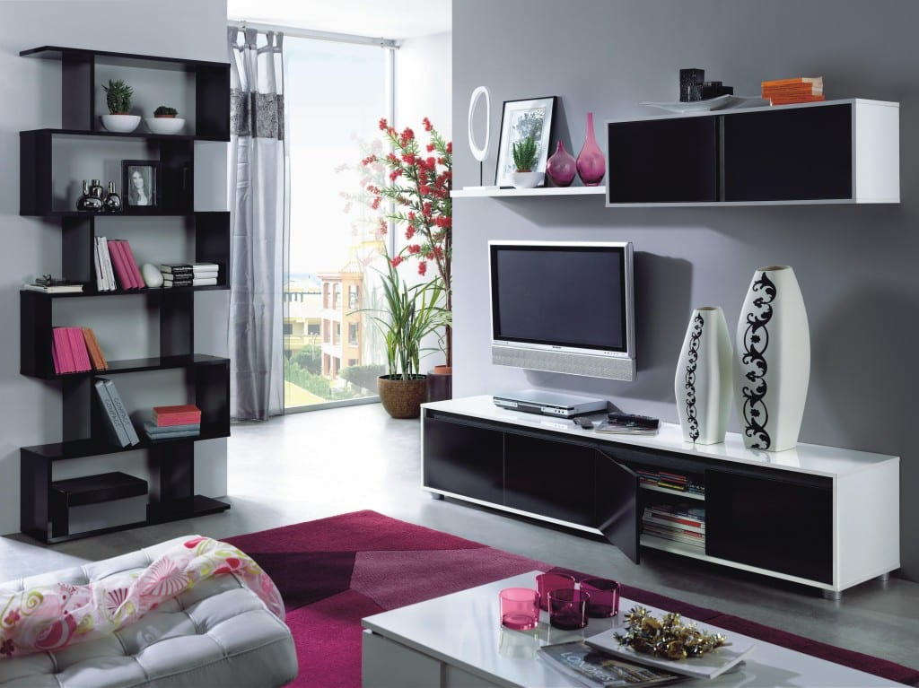 muebles negros