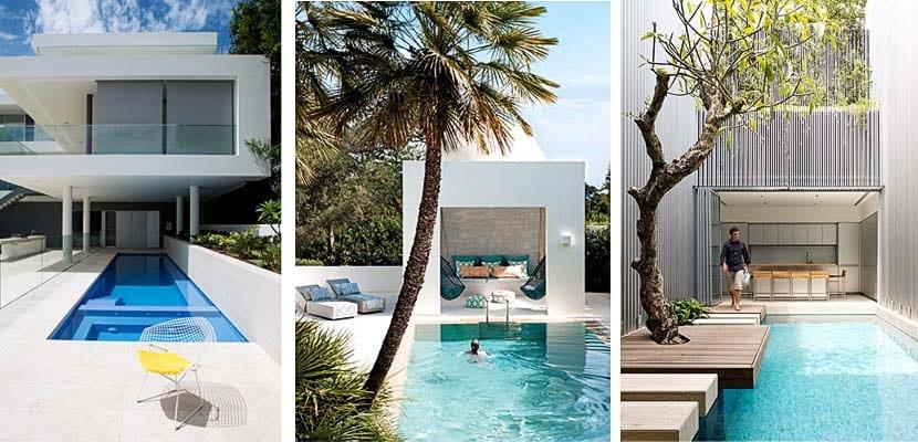piscinas modernas para tu jardín
