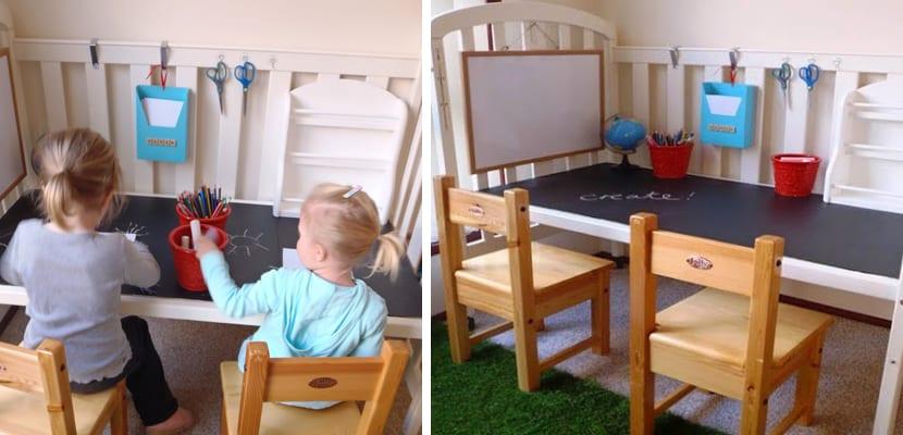 reciclar-cuna-escritorio-niños