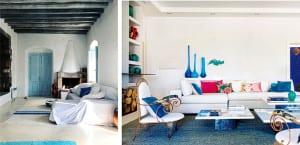Salones de estilo mediterráneo
