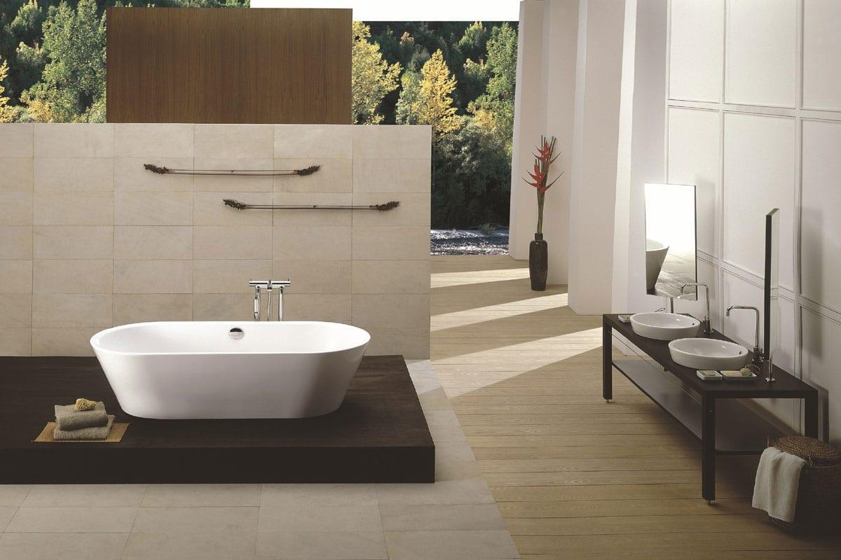 Los baños con estilo japonés