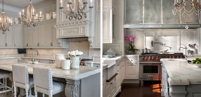 Cocinas grises en varios estilos - Cocinas estilo rustico ...