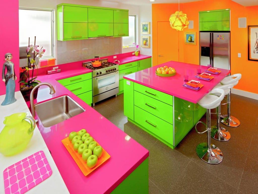 color neon cocina