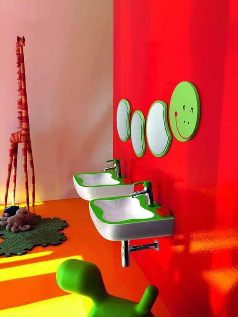 decoración infantil baño