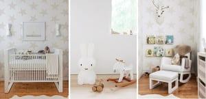Habitación de bebé neutra