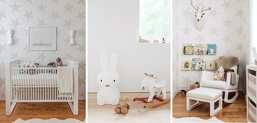 Consejos para decorar una habitación de bebé neutra