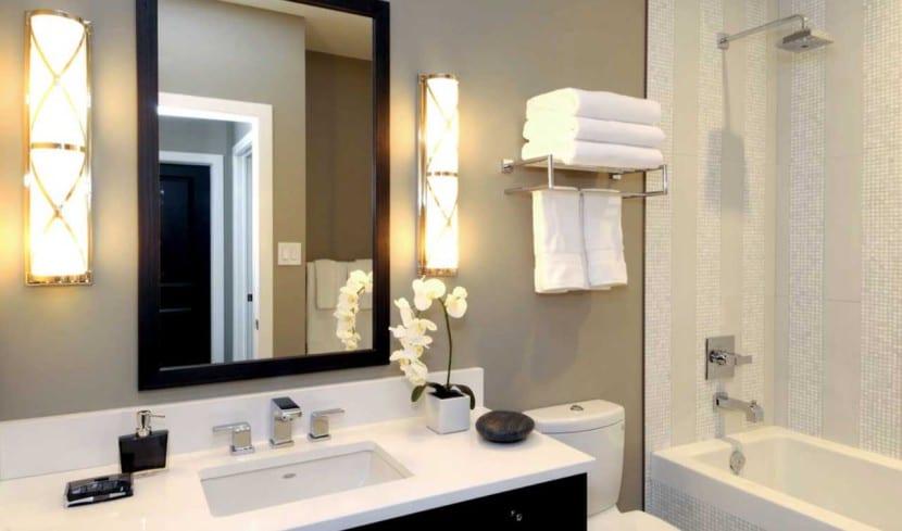 iluminar baño