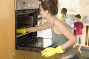 limpiar perfectamente horno