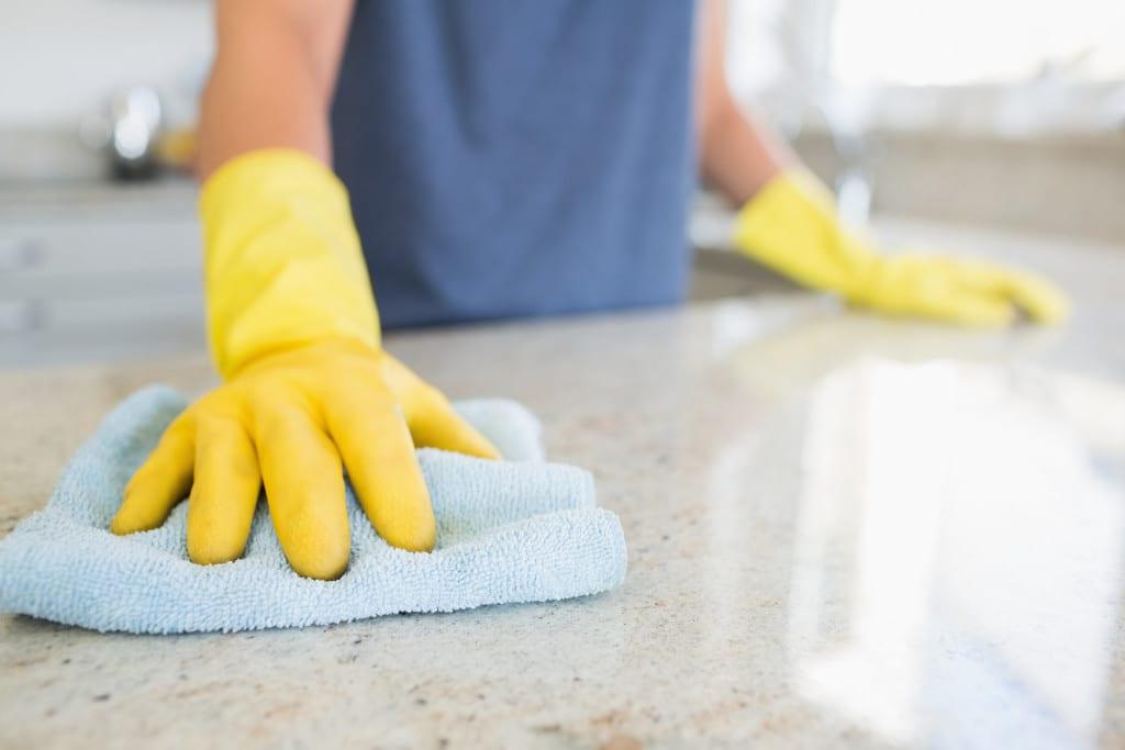 limpiar superficie