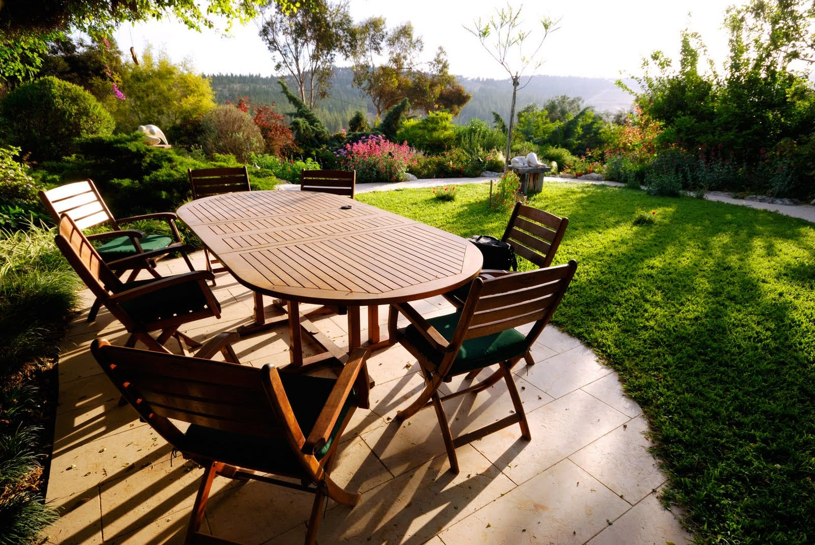 Muebles De Jardin De Madera Muebles De Exterior En Madera Sillon  # Muebles Solares