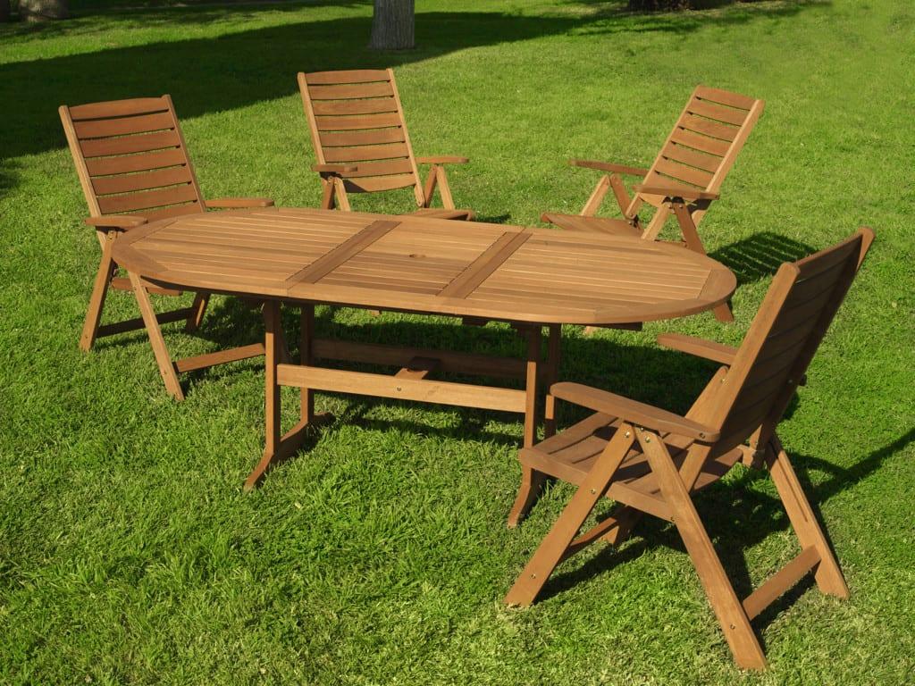 Muebles de jardn de madera un mueble para disfrutar la for Muebles jardin madera