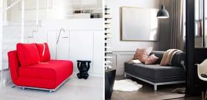 Sofás cama individuales