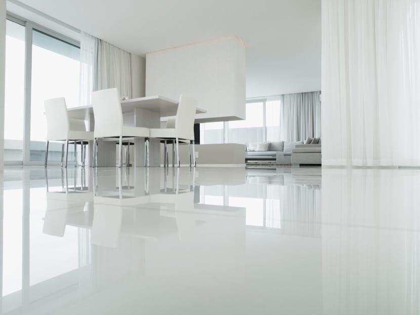 suelos en blanco