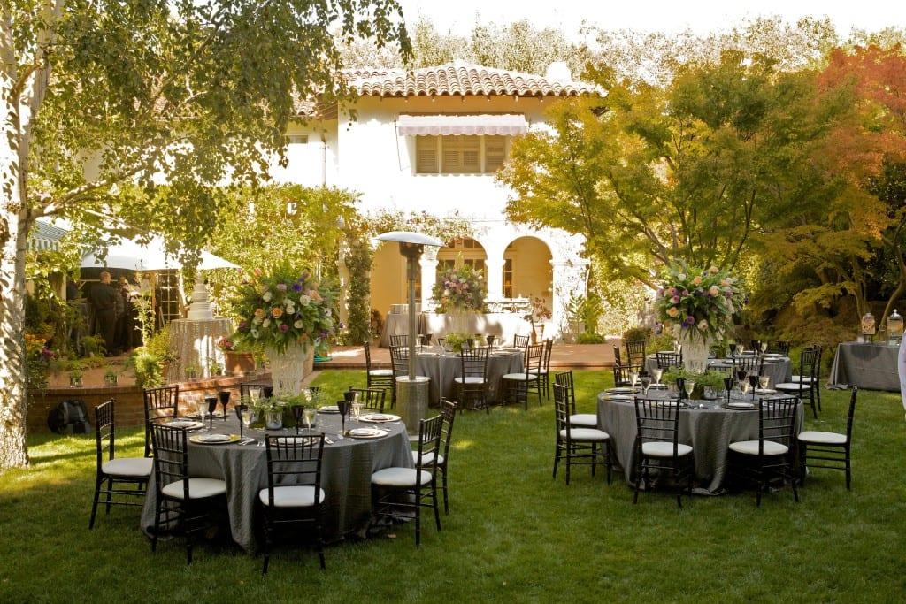 boda jardin sillas