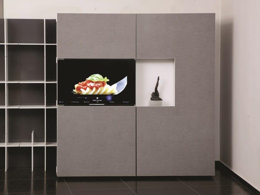cocina plegable cerrada