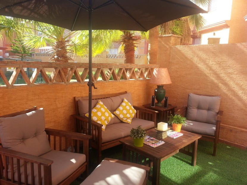 Ideas para preparar tu terraza para el verano - Como decorar una terraza grande ...