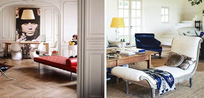 diván y chaise longue