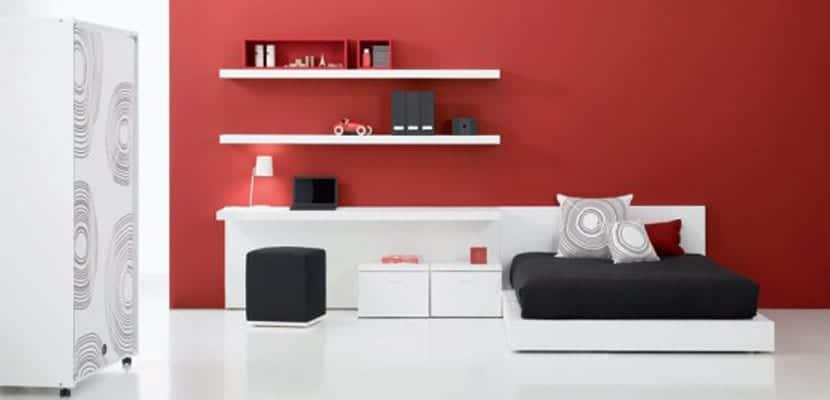 Dormitorios juveniles en estilo minimalista for Recamaras minimalistas 2015
