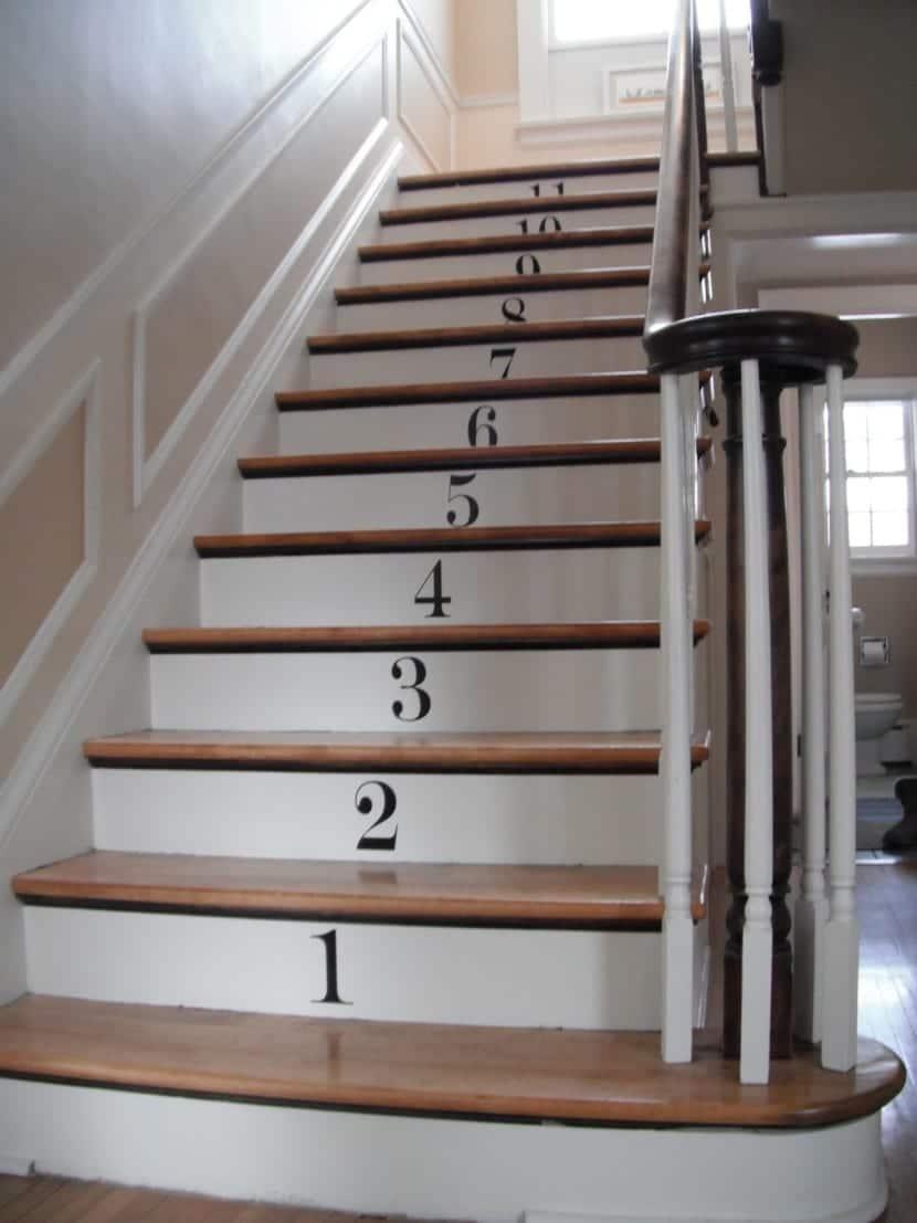 escaleras numeradas