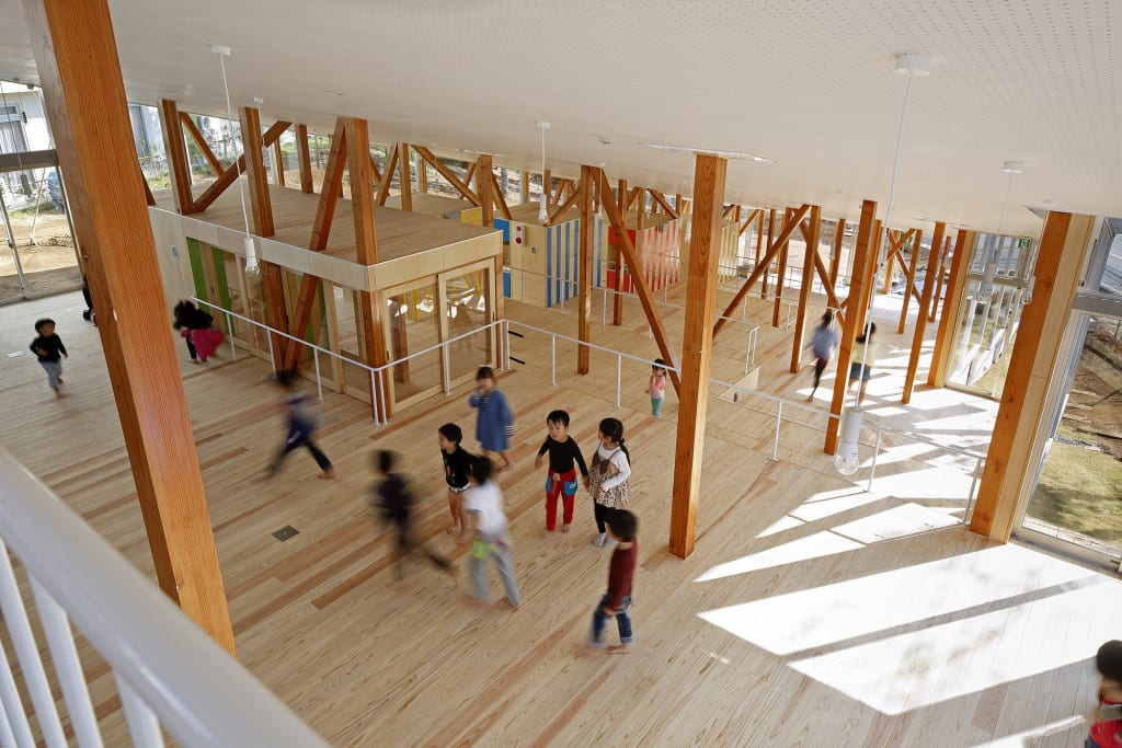 escuela infantil japon