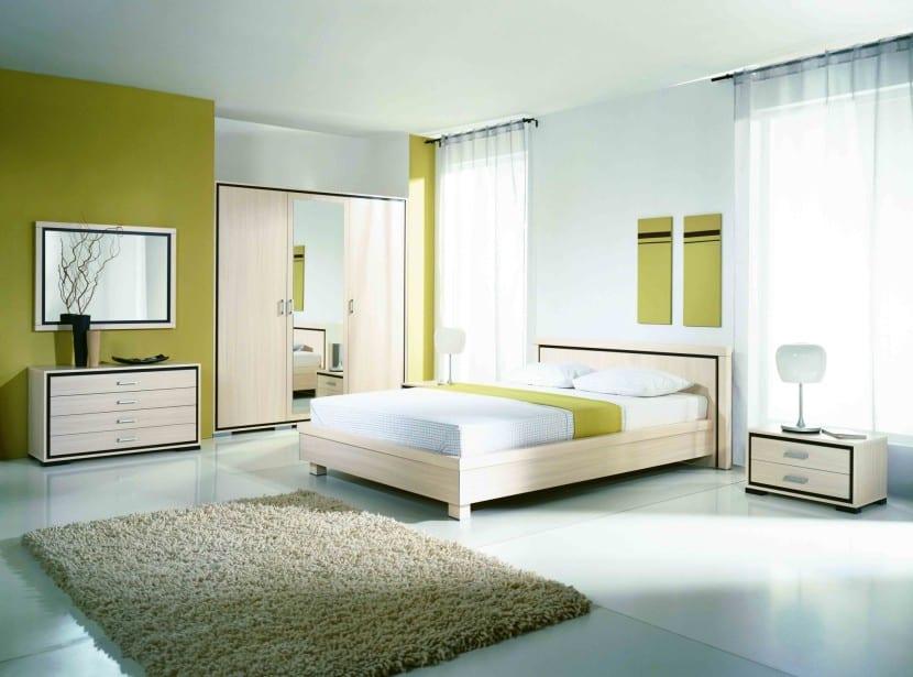 feng shui dormitorio verde