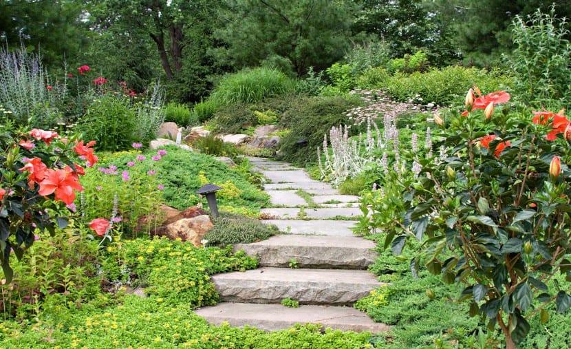 jardin hogar