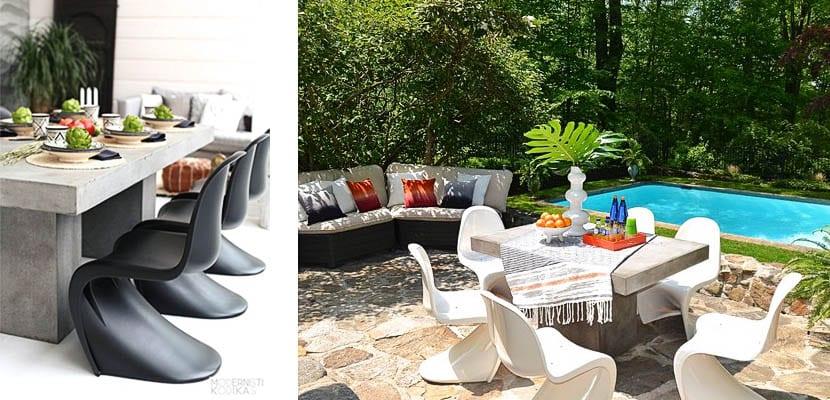 mesas de hormigón