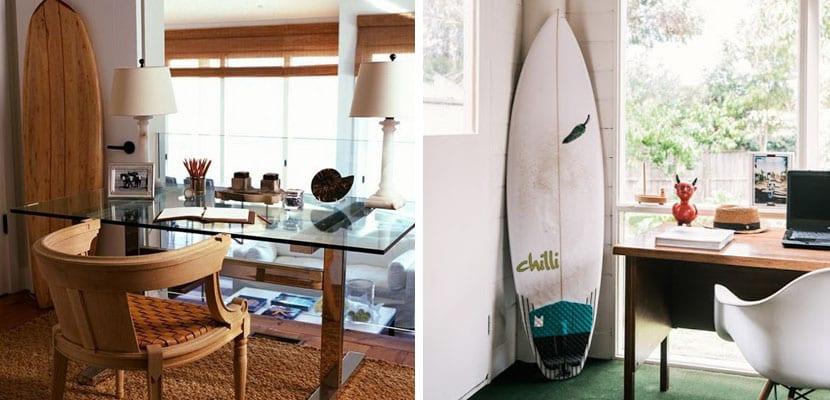 Oficina inspirada en el mar