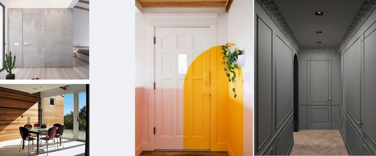 Es importante elegir el color de las puertas secretas