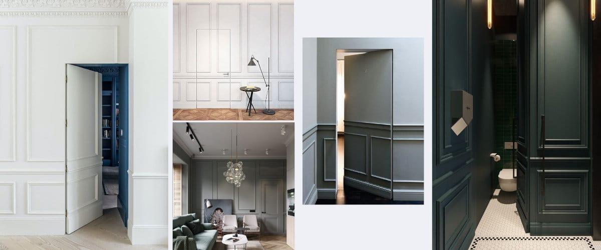 Las puertas secretas son un elemento indispensable en el hogar