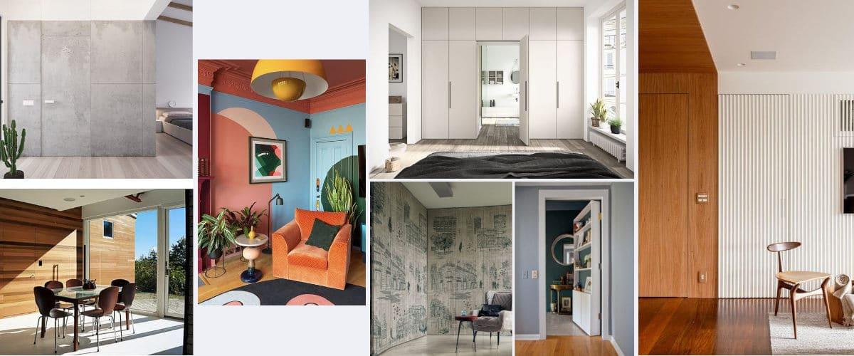 Las puertas secretas son ideales para el hogar