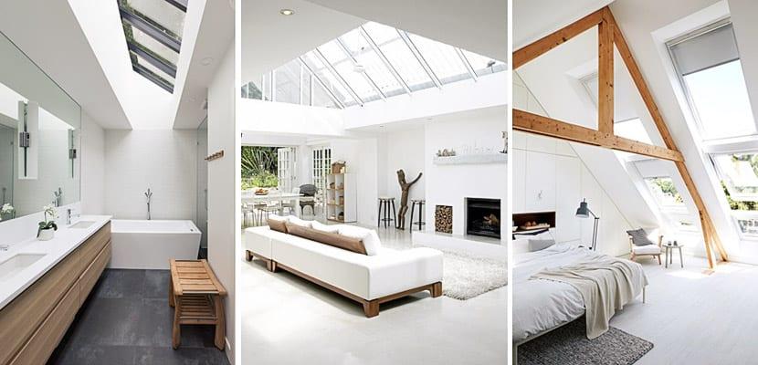 Techos acristalados y claraboyas para aportar luz natural - Tragaluces para tejados ...