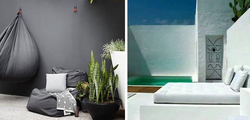 Terrazas minimalistas