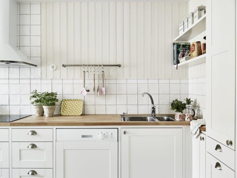 cocina limpia
