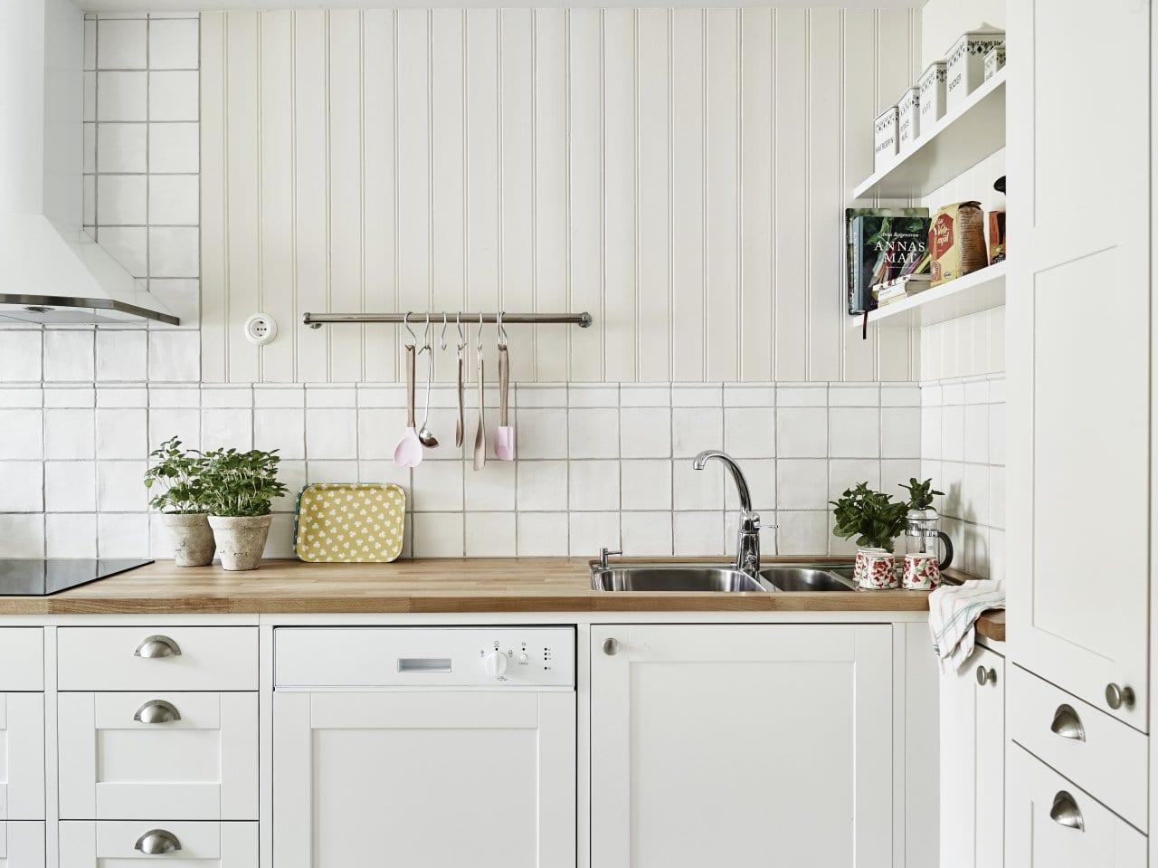 Consejos para mantener tu cocina perfectamente limpia - Limpiar azulejos cocina para queden brillantes ...
